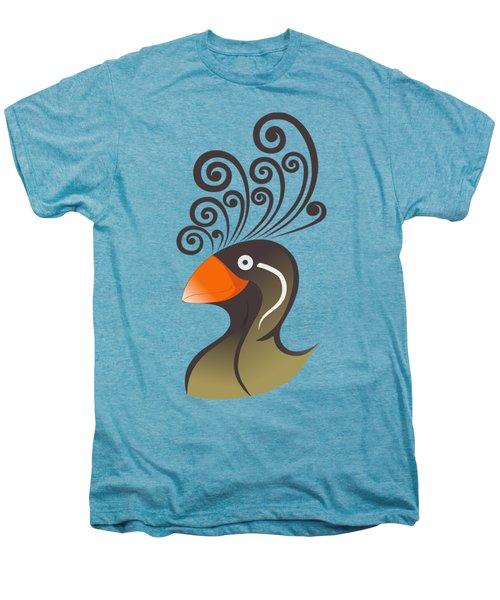 crestedAUKLET Men's Premium T-Shirt