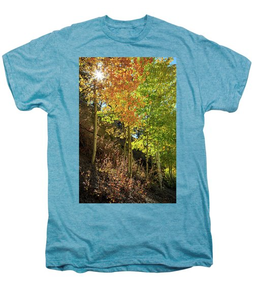 Men's Premium T-Shirt featuring the photograph Crisp by David Chandler
