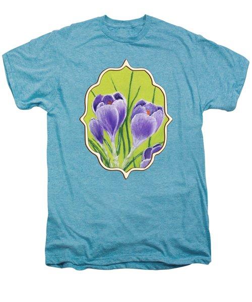 Crocus Men's Premium T-Shirt