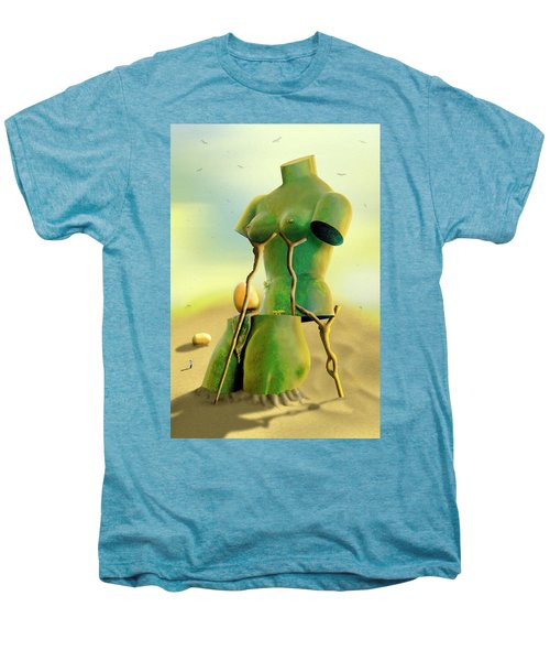Crutches 2 Men's Premium T-Shirt by Mike McGlothlen