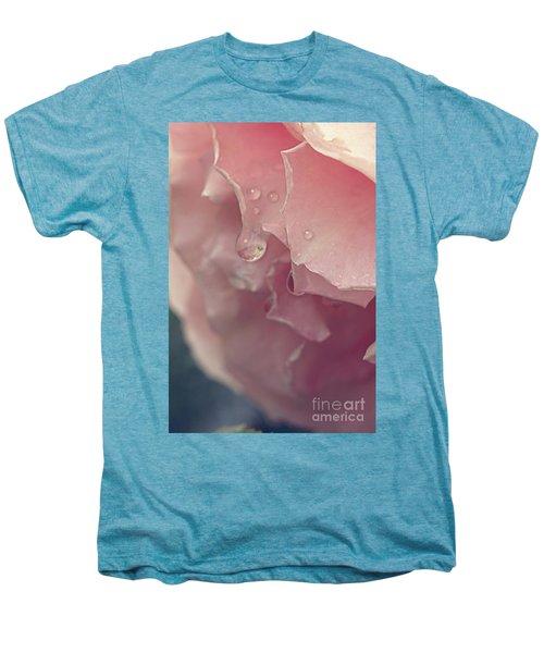 Crying In The Rain Men's Premium T-Shirt by Linda Lees