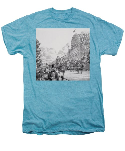 Crystal Palace Men's Premium T-Shirt by Pat Nicolle