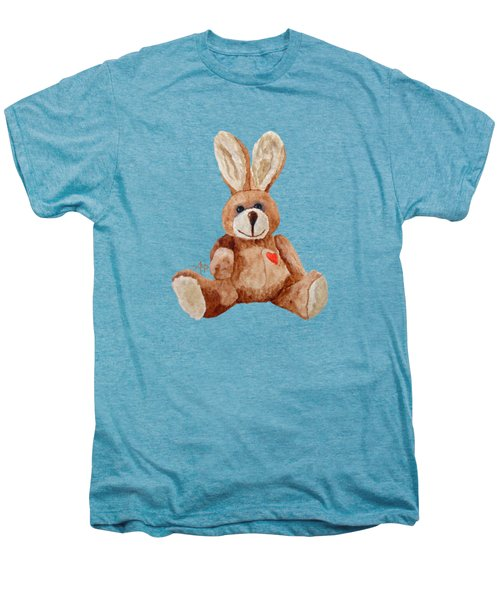 Cuddly Care Rabbit Men's Premium T-Shirt