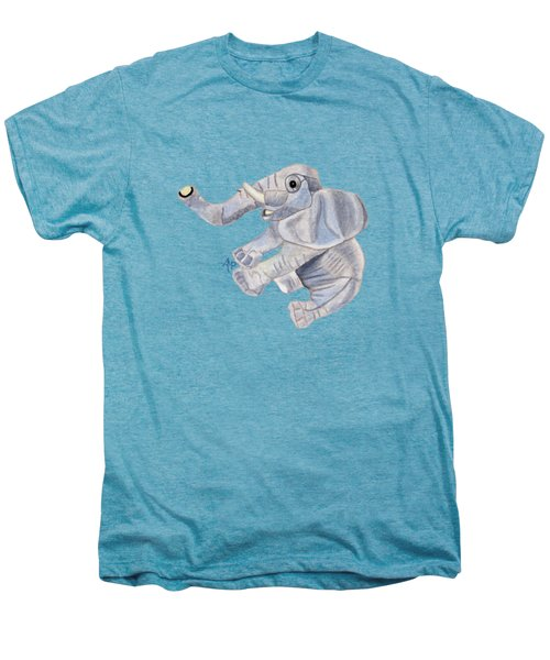 Cuddly Elephant IIi Men's Premium T-Shirt