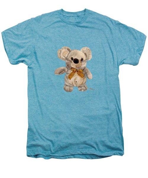 Cuddly Mouse Men's Premium T-Shirt by Angeles M Pomata