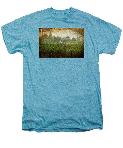 Cultivating A Chardonnay Men's Premium T-Shirt