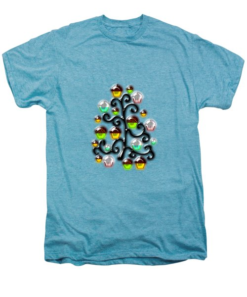 Cupcake Glass Tree Men's Premium T-Shirt by Anastasiya Malakhova