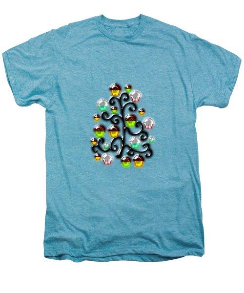 Cupcake Glass Tree Men's Premium T-Shirt