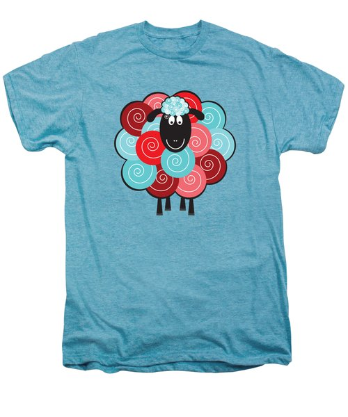 Curly The Sheep Men's Premium T-Shirt