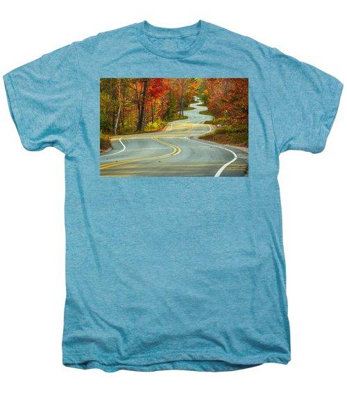 Curvaceous Men's Premium T-Shirt by Bill Pevlor