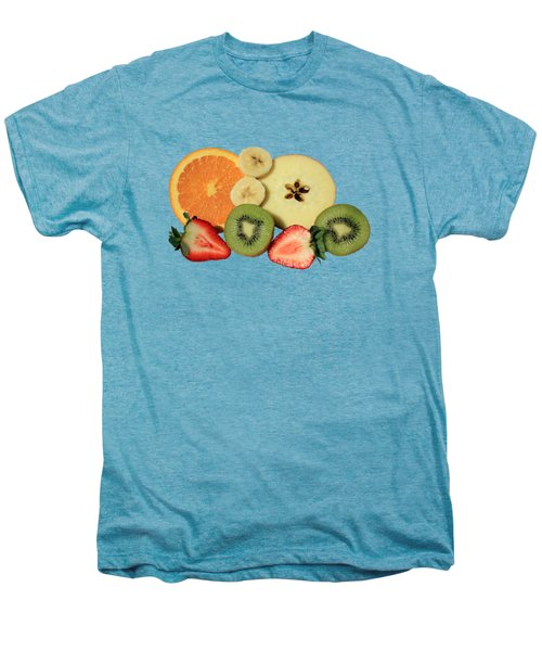 Cut Fruit Men's Premium T-Shirt by Shane Bechler
