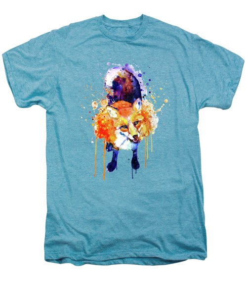 Cute Happy Fox Men's Premium T-Shirt