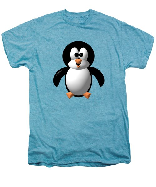 Cute Pengie The Penguin  Men's Premium T-Shirt