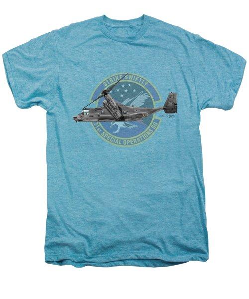 Cv-22b Osprey 71sos Men's Premium T-Shirt by Arthur Eggers