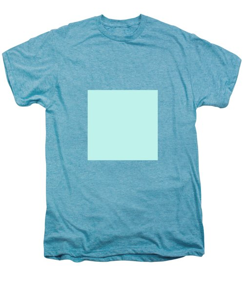 Cyan Ultra Soft Pastels Colour Palette Men's Premium T-Shirt