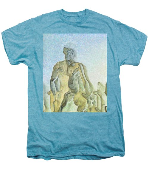 Cyclops Men's Premium T-Shirt by Joaquin Abella