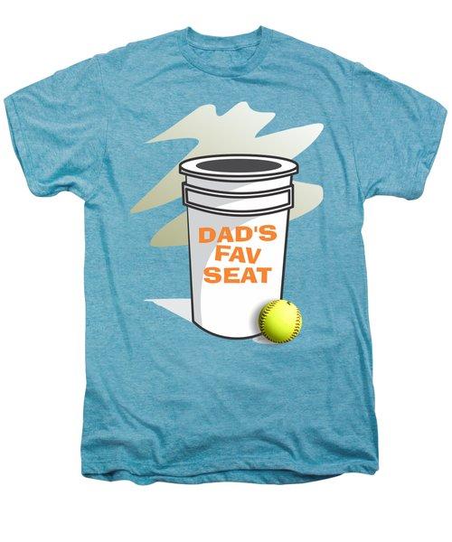 Dad's Fav Seat Men's Premium T-Shirt by Jerry Watkins