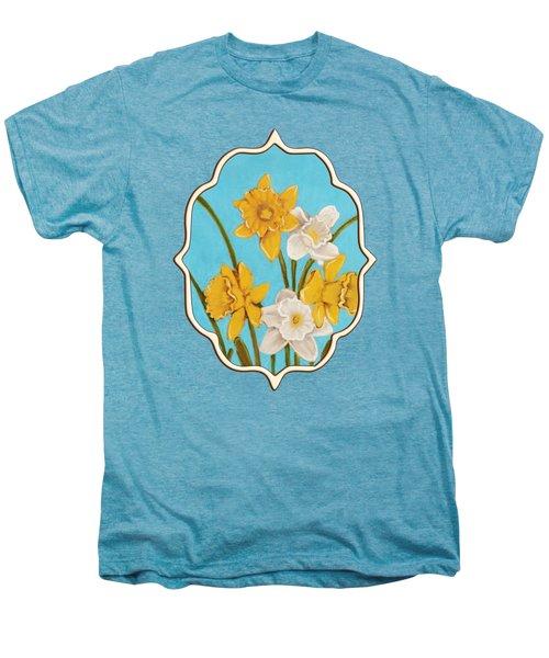 Daffodils Men's Premium T-Shirt by Anastasiya Malakhova