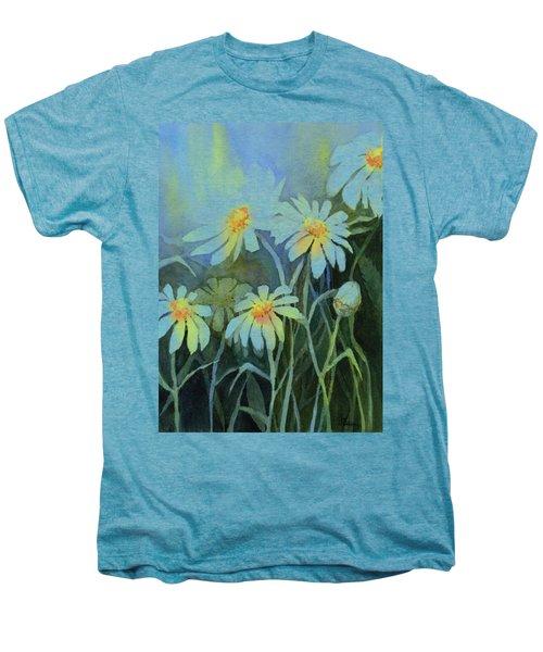 Daisies Flowers  Men's Premium T-Shirt