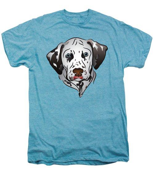 Dalmatian Portrait Men's Premium T-Shirt