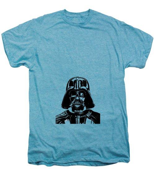 Darth Vader Painting Men's Premium T-Shirt by Edward Fielding