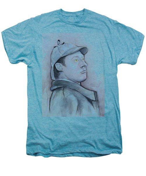 Data As Sherlock Holmes Men's Premium T-Shirt