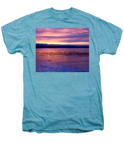 Dawn Patrol Men's Premium T-Shirt by Lora Lee Chapman