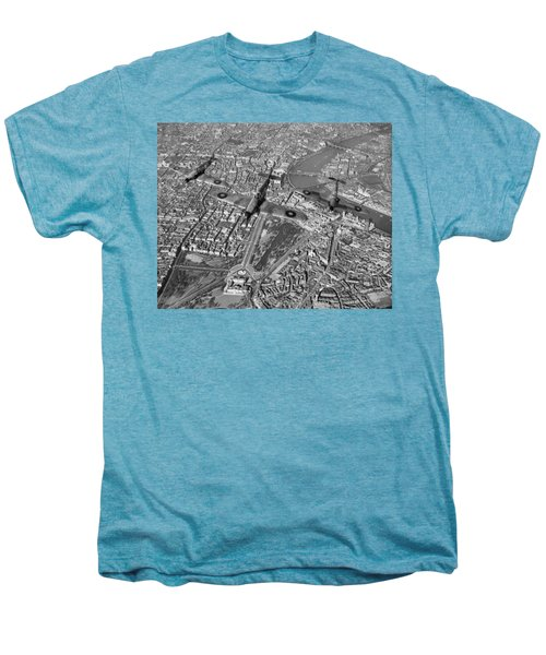 Men's Premium T-Shirt featuring the photograph Defence Of The Realm by Gary Eason