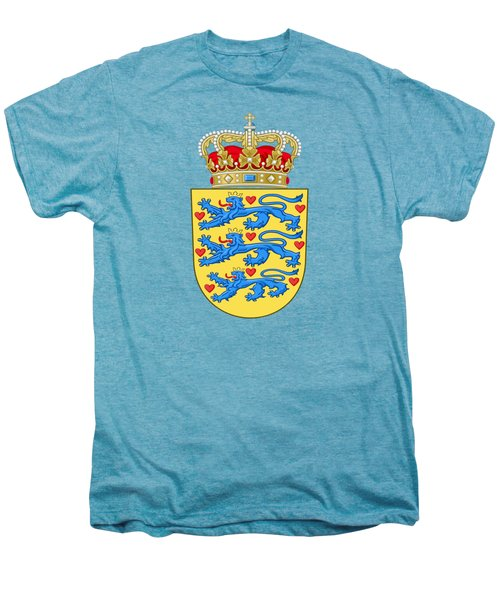 Denmark Coat Of Arms Men's Premium T-Shirt