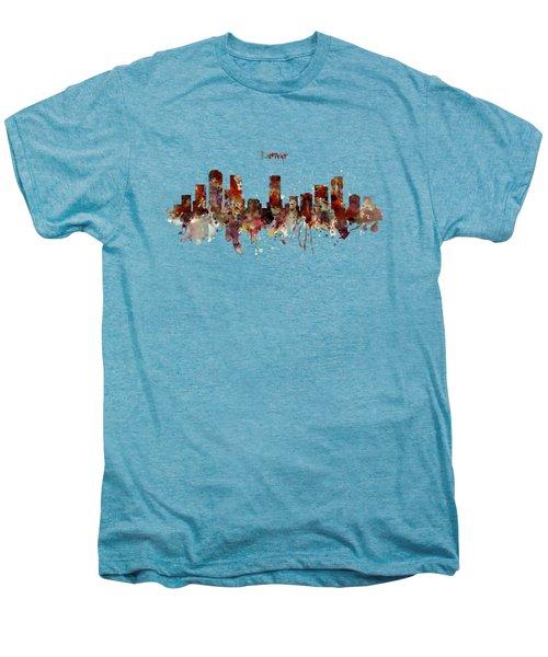 Denver Skyline Silhouette Men's Premium T-Shirt