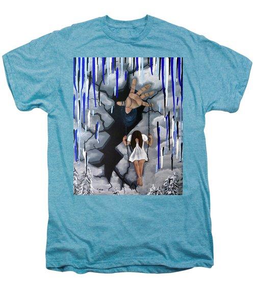 Depression Men's Premium T-Shirt by Teresa Wing