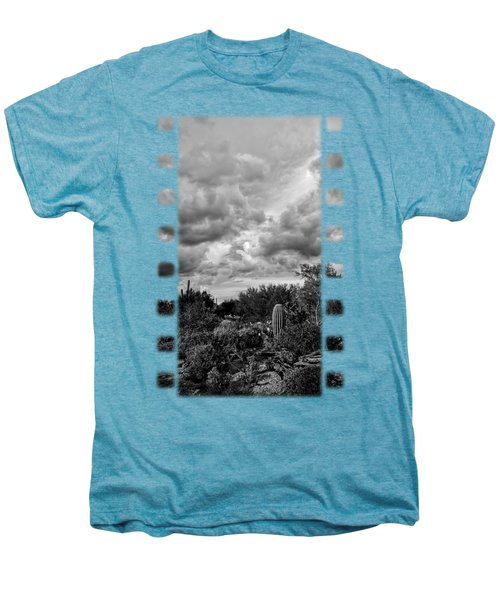 Desert In Clouds V15 Men's Premium T-Shirt by Mark Myhaver