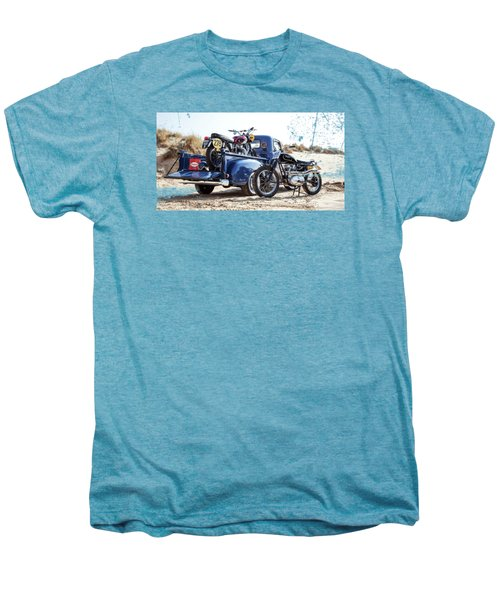 Desert Racing Men's Premium T-Shirt by Mark Rogan
