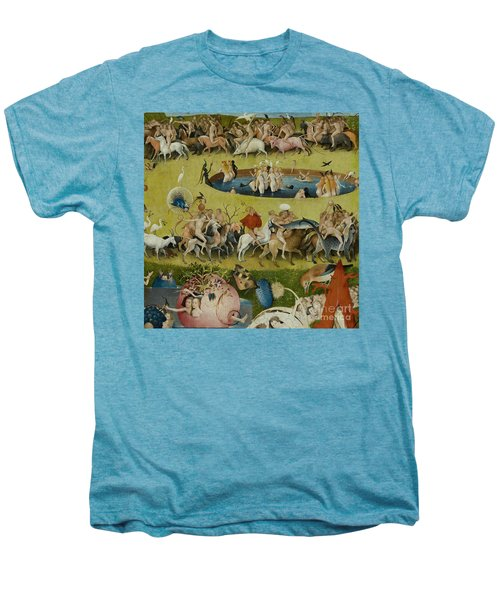 Detail From The Central Panel Of The Garden Of Earthly Delights Men's Premium T-Shirt by Hieronymus Bosch