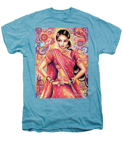 Men's Premium T-Shirt featuring the painting Devika Dance by Eva Campbell