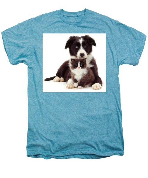 Different Strokes - Same Love Men's Premium T-Shirt