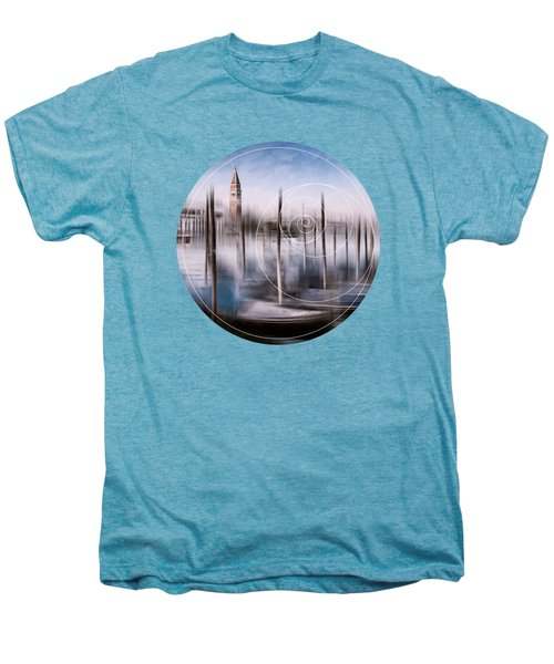 Digital-art Venice Grand Canal And St Mark's Campanile Men's Premium T-Shirt