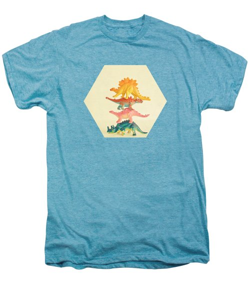 Dinosaur Antics Men's Premium T-Shirt