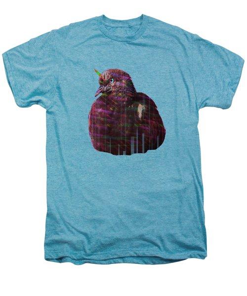 Disco Pigeon Unicorn Men's Premium T-Shirt by Tatiana Kotelnikova