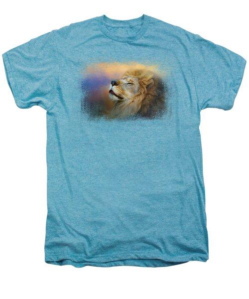 Do Lions Go To Heaven? Men's Premium T-Shirt by Jai Johnson