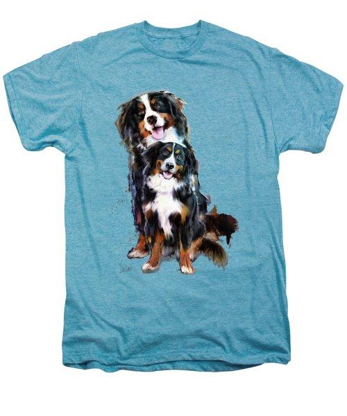 Dog Family Men's Premium T-Shirt