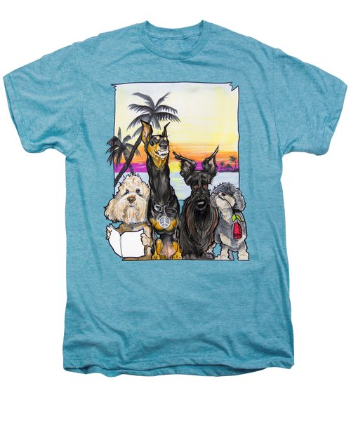 Dog Island Getaway Men's Premium T-Shirt