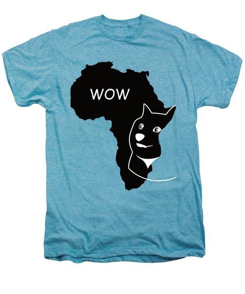 Dogecoin In Africa Men's Premium T-Shirt by Michael Jordan