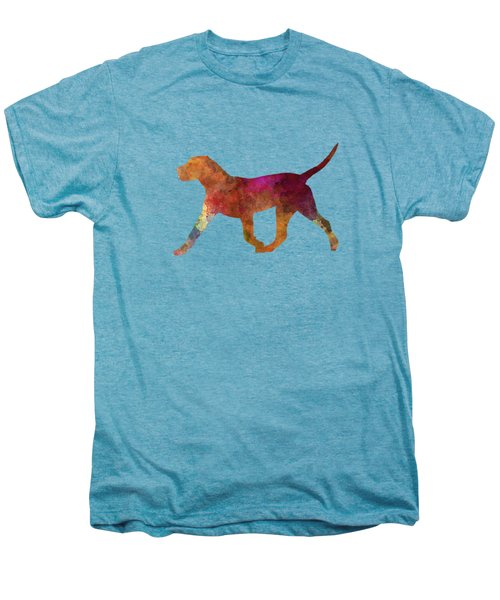 Dogo Canario In Watercolor Men's Premium T-Shirt by Pablo Romero