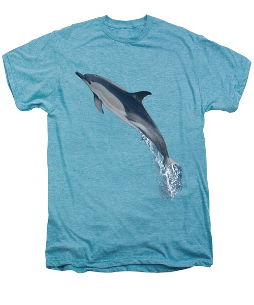 Dolphin Leaping T-shirt Men's Premium T-Shirt