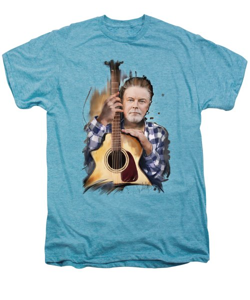 Don Henley Men's Premium T-Shirt by Melanie D