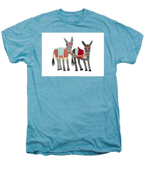Donkeys Men's Premium T-Shirt by Isoebl Barber
