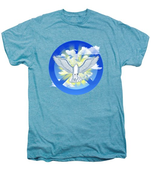 Dove Of Peace Men's Premium T-Shirt by Chris MacDonald