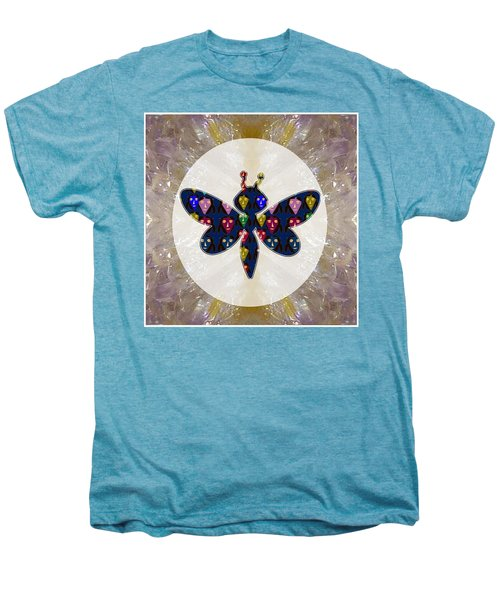 Dragon Fly Cute Painted Face Cartons All Over Donwload Option Link Below Personl N Commercial Uses Men's Premium T-Shirt