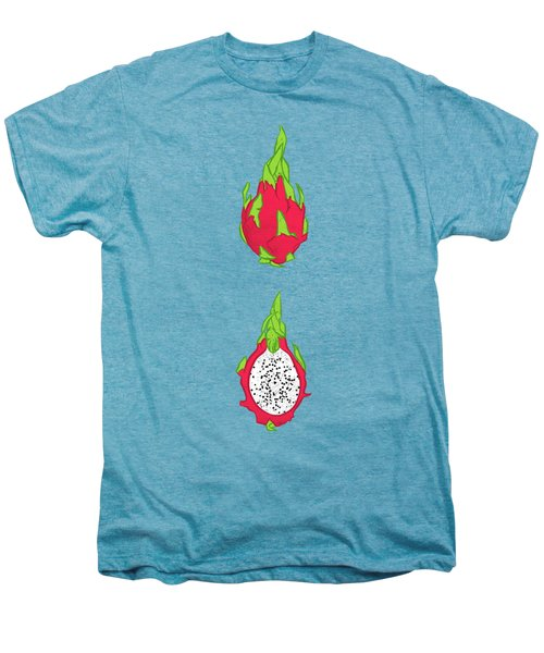 Dragon Fruit Men's Premium T-Shirt by Evgenia Chuvardina